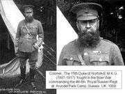 NORFOLK  ( 15th Duke of)