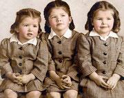 Myrtle, Alma, Pearl Fiedler