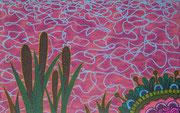 bewegtes Wasser, 2012, 50 x 80 cm