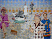 welcome to..., 2009, 200 x 260 cm