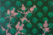Disteln im Grünen, 2013, 65 x 100 cm