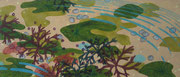 Normannisches Meerstück II, 2016, 65 x 150 cm