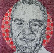 Boris P., 2007, 76,5 x 75, 5 cm, gepolstert