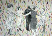 Reigen,2009, 120 x 175 cm