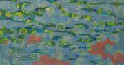 Etwas weiter Flussaufwärts, 2014, 80 x 150 cm
