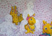 Pferdchen, 2008/2009, 140 x 200 cm