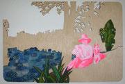 Papa, Elfe und ich, 2011, 60 x 90 cm