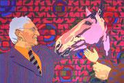 Der Kandidat, 2002, 100 x 150 cm