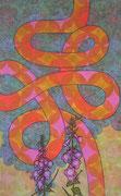 serpens in horto video, 2013, 130 x 80 cm