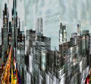 New York - Art  - Numérique - Sous plexi - 83 x 71 cm
