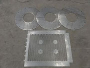 Laser cutting punching metal