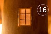 Fenster provisorisch eingebaut
