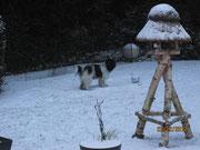 Es heißt Schnee, das weiß ich noch vom letzten Jahr.