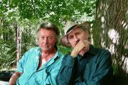 Mit Filmemacher Ferry Radax, 2008