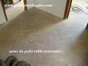 roble eslavonia pulido, ap  plastificados
