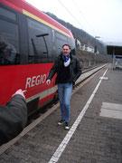 unsere Fahrt nach Kaiserslautern