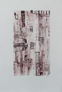 Village, Lithographie 55X75