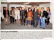 Exposition Centre Culturel de Hotton - L'avenir Luxembourg - Article de presse - 22/11/2011