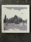 ROTUNDE schwarz 20x20cm,  Auflage 7Stück