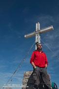 Einer für die Sammlung - am Gipfel des Breithorns