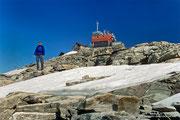 """Ein Muss: Gipfelfoto nach 3 Stunden und 40 Minuten """"harter Arbeit"""""""