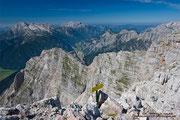 Gipfelblick vom Breithorn