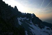 Am Klettersteig nach der Gruttenhütte