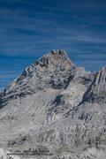 Blick zurück zum Aufstiegsweg zur Schönfeldspitze