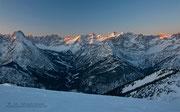 Unbegrenzte Tourenmöglichkeiten im Karwendelgebiet...