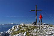 Am Gipfel des Schöneggs