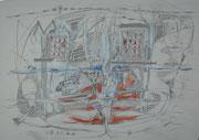 """""""OhnMacht""""  2017     31x43 cm       Bleistift/Buntstift auf Papier"""