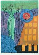 """""""Störfall"""" (2020, Auflage 4, Papiermaß 70x50 cm, Druckmaß 50x36cm"""