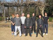 一日錬成会・片倉城跡公園(2015・2・28)