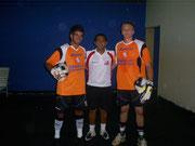 Mateus , Wandomar  e  Tiago  Bazanella