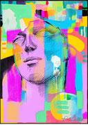 "Davide Ricchetti: ""untitled"", arte digitale, Procreate, 2019"