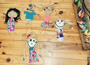des enfants plein d'imagination, atelier idéephémère, 64260 Bielle