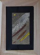 sables obscurs, 10 x 15 cm, vendu
