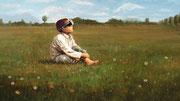 Boy in a Pasture // 2016 // 143x80 (Original nicht mehr vorhanden)