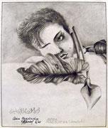 2479/ Bleistift, 1985, sign. P.Schadwinkel, 35x27cm, EUR 60,-