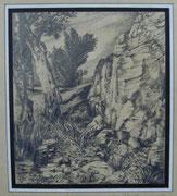 2290/ Bleistift, 1975, sign.P. Schadwinkel, 37x28cm, EUR 30,-