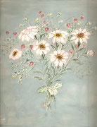 2219/ Blumen, ~1960, P.Schadwinkel unsign. (Zertifikat), 25x29cm, EUR 25,-