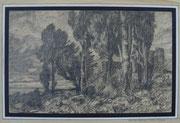 2477/ Bleistift, ~1970, monogr. P.Sch., 37x28cm, EUR 35,-