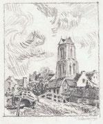 2260/ Bleistift, 1972, sign. P. Schadwinkel, 18x21cm, EUR 35,-