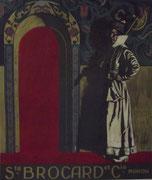3198/ Plakat, ~1900, Sté.Brocard et Cie., Moscon, 50x59cm, EUR 60,-