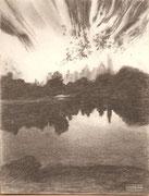 (Zertifikat)2214/ Bleistift, ~1970, P.Schadwinkel unsign. (Zertifikat), Motiv 14x18cm, EUR 20,-