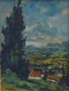 "2274/ Öl/Pappe ""P.Schadwinkel"" unsign., ~1960, m.Zertifikat, 12x16cm, EUR 50,-"