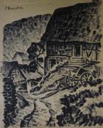 2305/ Ober-Altenbach im Spessart, 1920, sign. Ruppert, 35x45cm, EUR 40,-