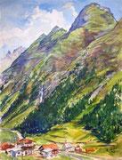 2935/ Berge, 1978, sign. H.Wild, 30x40cm, EUR 25,-
