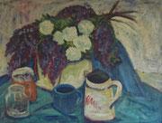 """2009/ Öl/Pappe """"L.Peltz"""" ~1985, 90x70cm, mit Zertifikat, EUR 150,-"""