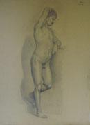 2346/ Bleistift, 1909, sign. H.Kipp, 49x65cm, EUR 75,-